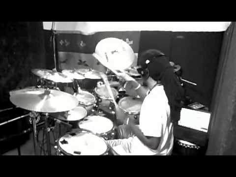 """Drum Cover : """"Copy, Paste"""" By Diggy Simmons (HQ)"""