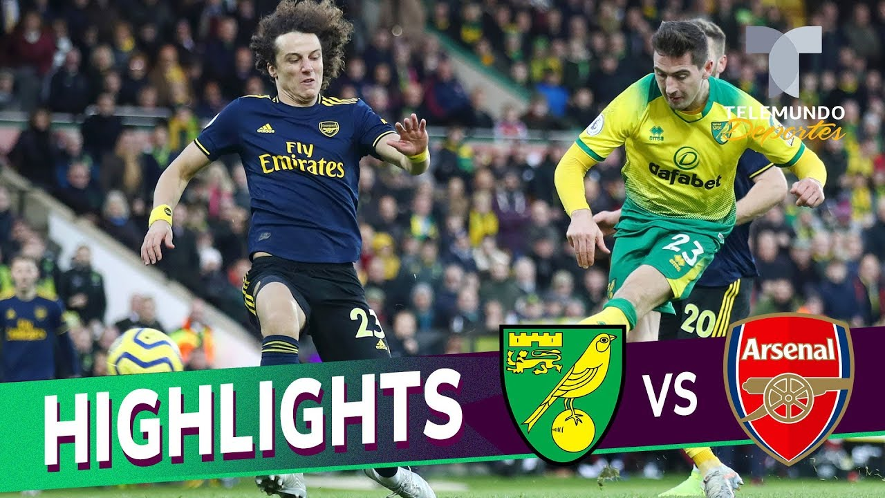 Norwich City Vs Arsenal 2 2 Goals Highlights Premier