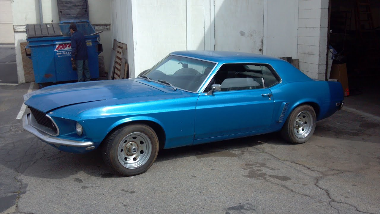 1969 Ford Mustang 351 M Code Coupe Restoration Part 3
