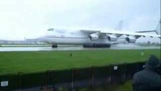 Antonov 225 Departure, Manchester Airport
