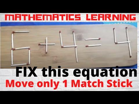 Match Stick Puzzle#4