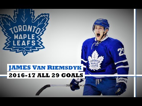 James Van Riemsdyk (#25) ● ALL 29 Goals 2016-17 Season (HD)