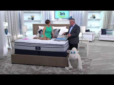 """Serta Perfect Sleeper Harmonize 12"""" CK Pillow Top Mattress Set with Nancy Hornback"""