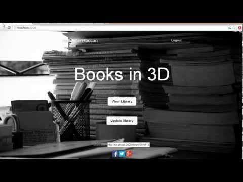 Books in 3D