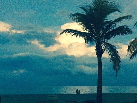 Утренняя прогулка по Санни Айлсу/Sunny Isles к океану. Дни эпидемии.