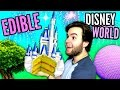 DIY Edible Disney World - EAT Magic Kingdom CASTLE, Gummy Epcot Ball, Animal Kingdom Meat Tree DIY
