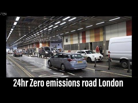 BMW i3 VLOG | New 24hr Zero emission street in London