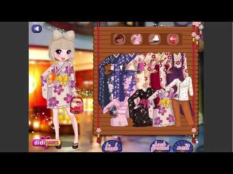 Sushi Girl Dress Up - Thời trang kiểu Hàn Quốc   Hướng dẫn game 24h