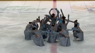 Команда Жемчужина Чемпионат России 2020 короткая программа Саранск КМС 19 01 2020