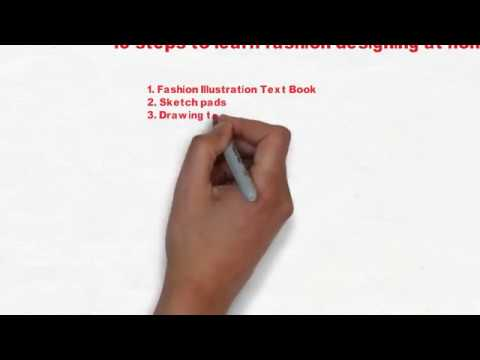 How To Learn Fashion Designing At Home-How to become a successful ...