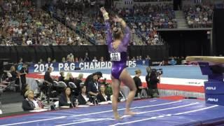 Alyssa Baumann - Vault - 2016 P&G Gymnastics Championships - Sr. Women Day 2