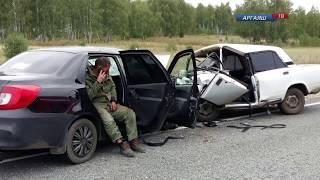Двое маленьких детей пострадали в аварии у Марксиста