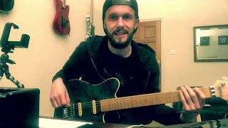 """How I Play """"The Seventh Seal""""   Van Halen   Lesson"""