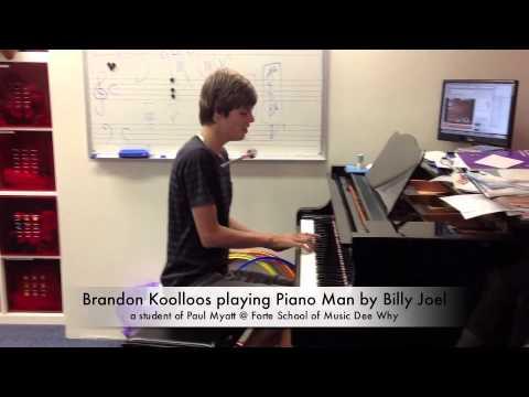 Piano Man - played by 14 y/o Brandon Koolloos