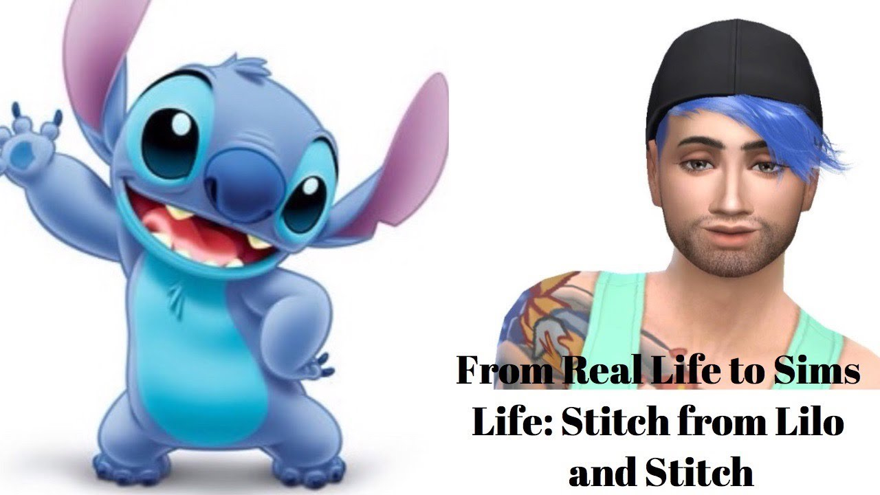 Stitch in real life