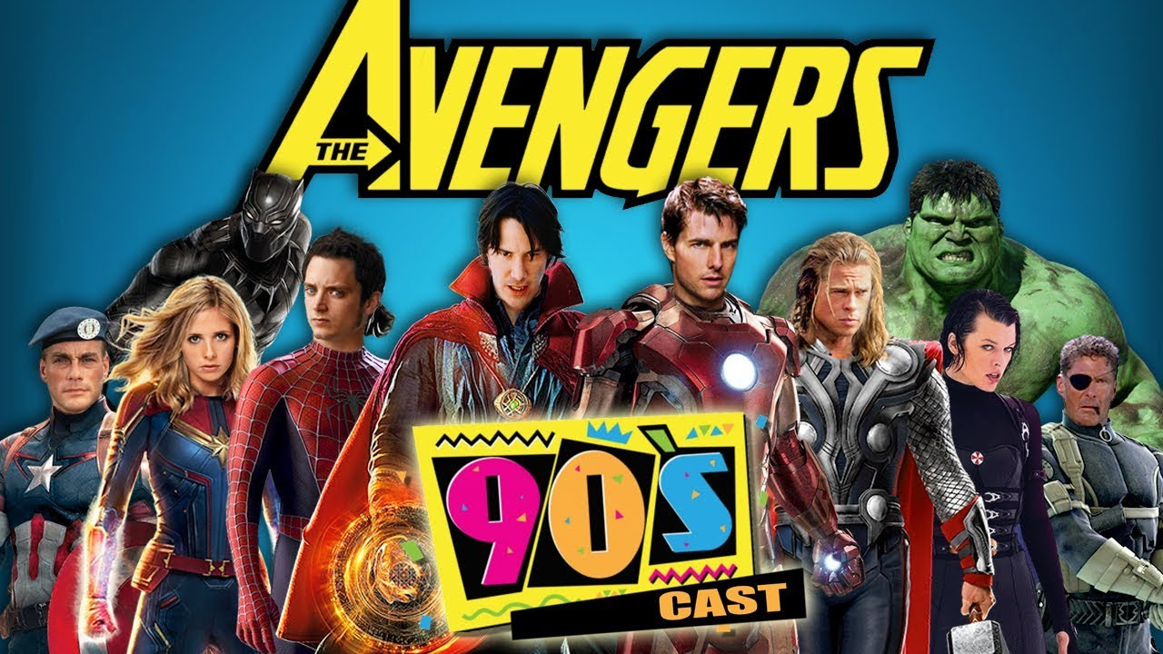 The Avengers 90 S Cast Trailer Fan Made Wtm