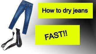 видео Как быстро высушить одежду в домашних условиях
