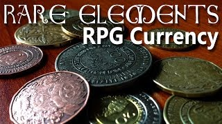 Rare Elements - RPG Currency (Real Money)  [D&D, Pathfinder]