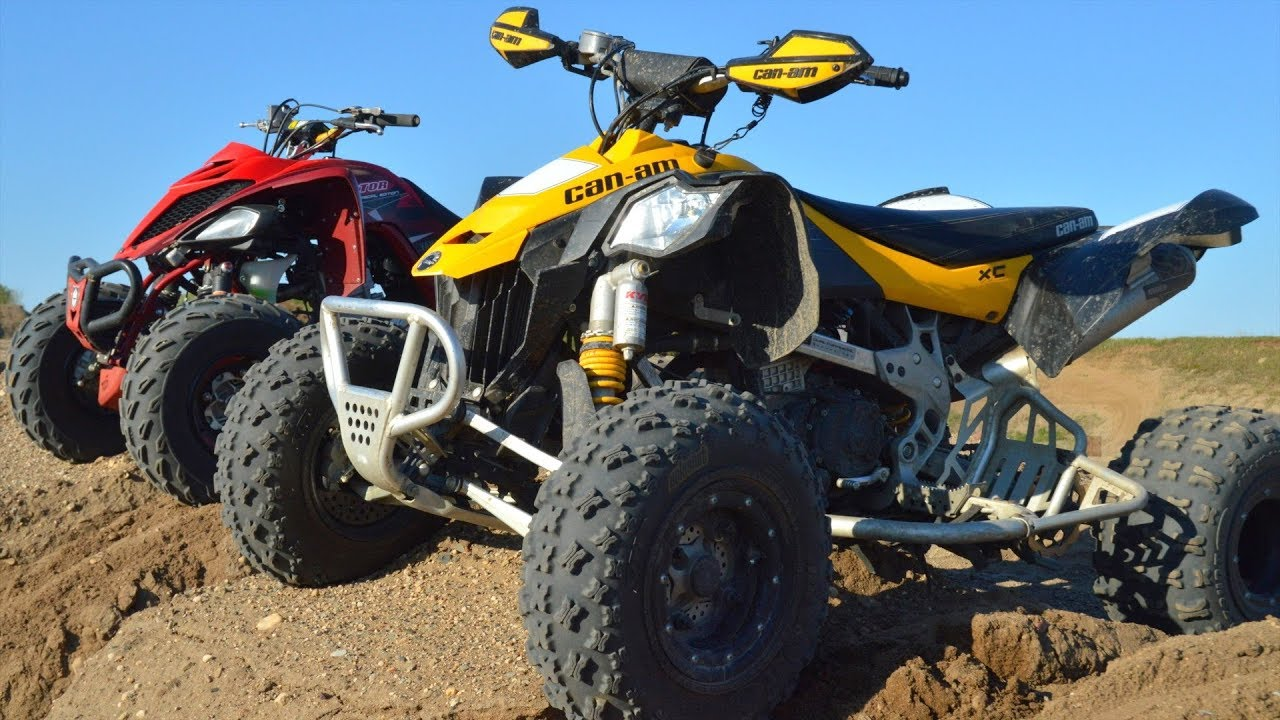 Can Am Ds 450 >> First Ride With A Can Am Ds450