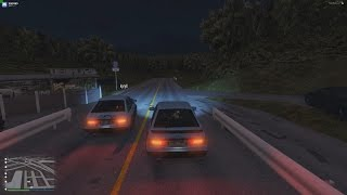 A casual tandem run in the night at Akina with two AE86's. Song: In...
