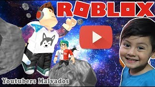 Youtuber Evil in Roblox ESCAPE THE CRAZY YOUTUBER ? Roblox Children's Games