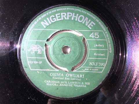 Cardinal Rex Lawson & His Majors Band Of Nigeria - Osima Owuari (Kalabari) (Nigerphone Nxf.390)