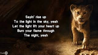 Beyoncé - Spirit 🎵 (Lyric) (From Disney's
