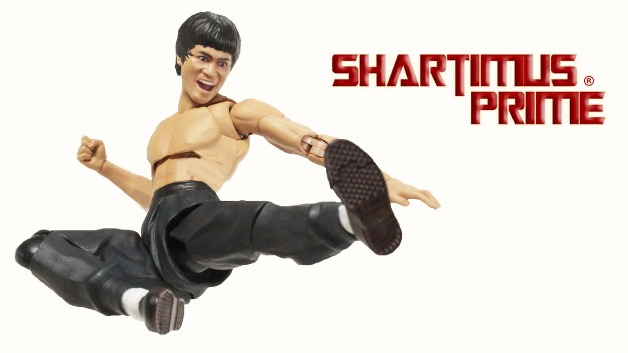 Bruce Lee Select Action Figure Yellow Jumpsuit Version