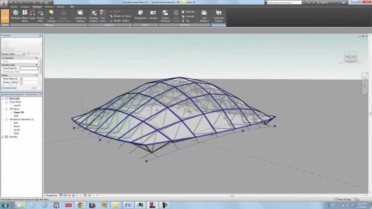 Buildz Space Frame Quickie Youtube