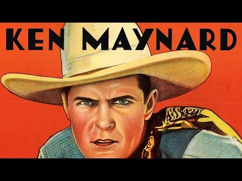 Between fighting men Ken Maynard 1932 movie poster