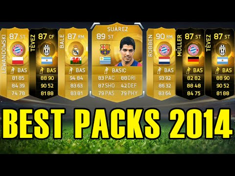 MY BEST PACKS OF 2014!! - FIFA 15 AMAZING PACK OPENING COMPILATION
