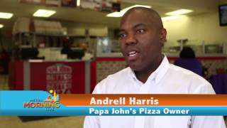 Papa John's Youngest Franchisee - Andrell Harris