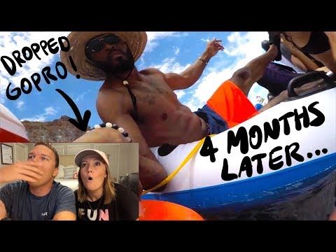 Found GoPro Underwater - 4 Months Later, OWNER FOUND ME! (Best Reaction!)