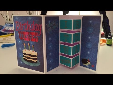 Building Block Birthday Card