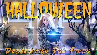 DIY  How to Make: Miniature Halloween Decorations PLUS Fun Finds