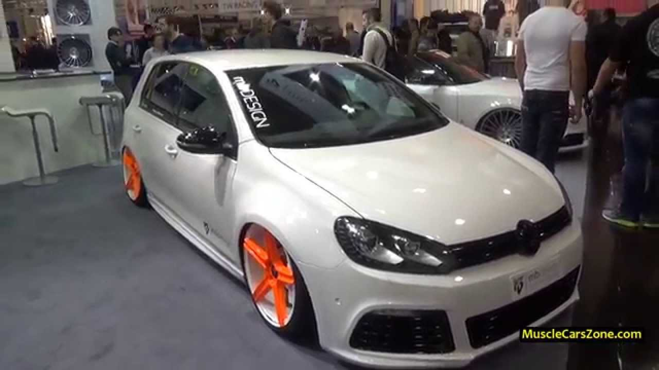 volkswagen golf 6 mbdesign tuning 2014 essen motor show youtube. Black Bedroom Furniture Sets. Home Design Ideas
