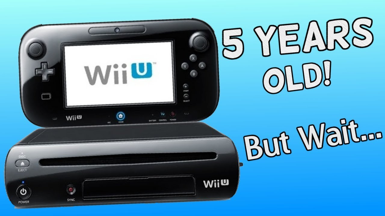 The Wii U Is Now 5 Years Old. What a Life It's Had.