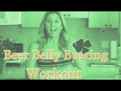 Beer Belly Fat Loss Ab Workout