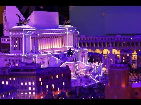 Italien im Miniatur Wunderland Hamburg - The world's largest model railway