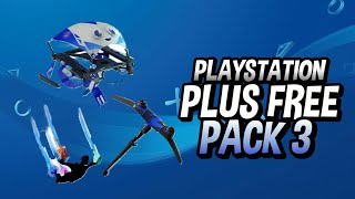 FORTNITE PLAYSTATION PLUS CELEBRATION PACK 3
