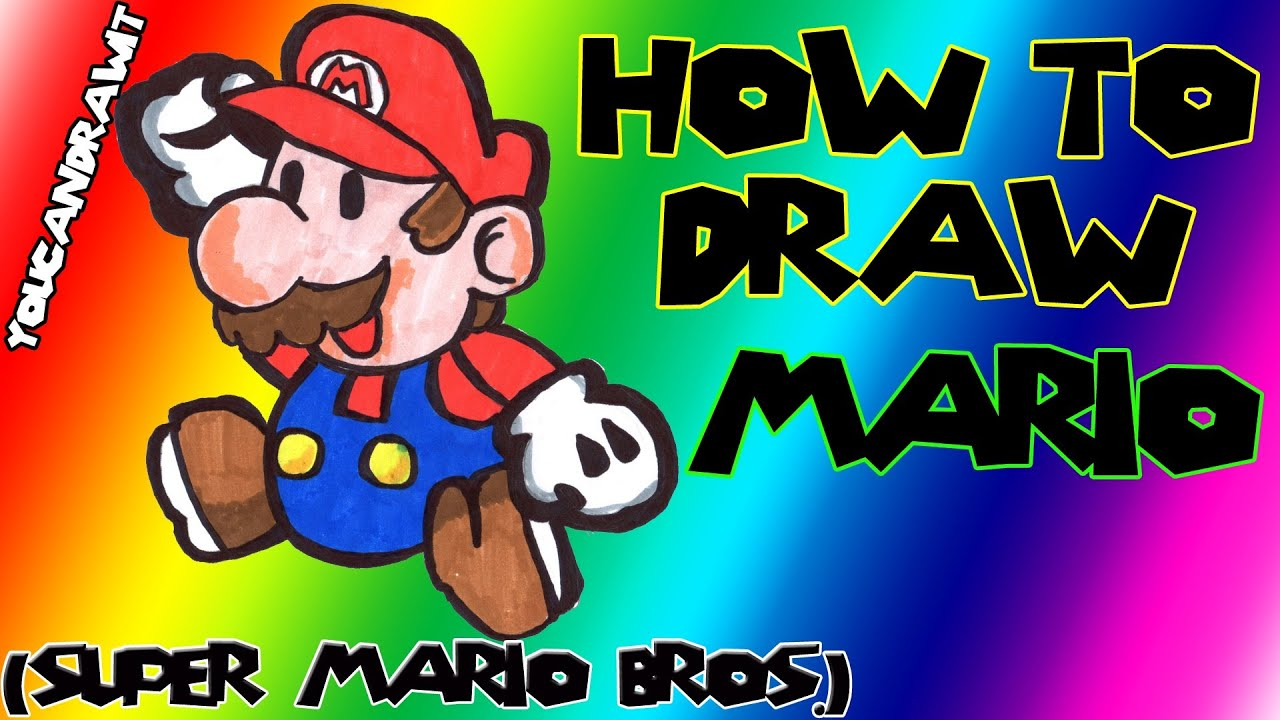 Download How To Draw Mario from Super Mario Bros. ✎ YouCanDrawIt ツ
