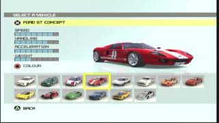 Ford Racing 3 All Cars