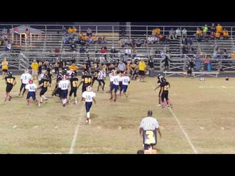 """J"" #58 Monster???big hitz??? HaveLock MiddLe SchooL Trojans 10/18/2016"