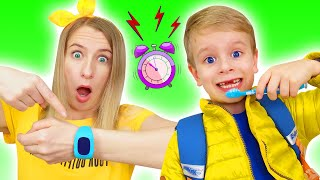 Put On Your Shoes Song Dima Pretend Play Brushing Teeth Kids Morning Routine Nursery Rhymes