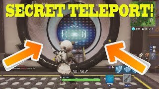 *NEW* Secret TELEPORTERS in Wailing Woods BUNKER!! | Fortnite Update | How to Use Mounted Turret