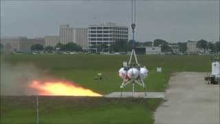 NASA Project Morpheus Tether Test #21 and Hot Fire Test #9 Video Compilation