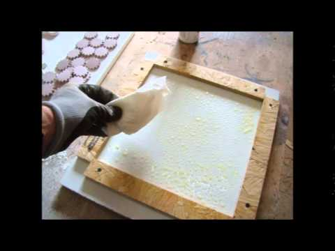 Make Your Own Decorative Concrete Tiles Youtube