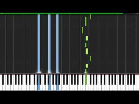 She Is Still Sleeping - Sword Art Online [Piano Tutorial] (Synthesia) // Nadav Schneider