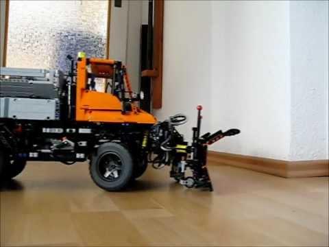 lego technic 8110 unimog winter moc youtube. Black Bedroom Furniture Sets. Home Design Ideas