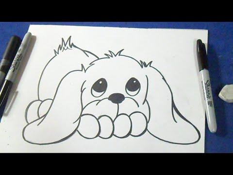 como desenhar um filhote de cachorro youtube